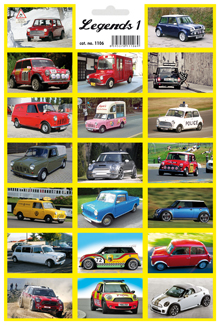 "Legendy 1 - legendární auta ""MINI COOPER"""
