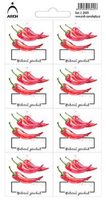 PAPRIKA - Natural product - 8 etiket